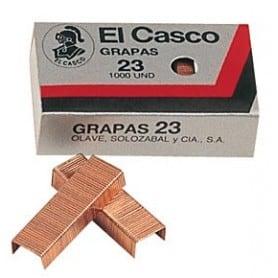 Grapas 23 Cobrizas