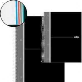Cuaderno microperforado tapa dura Dequa A4 - 210 x 297 mm