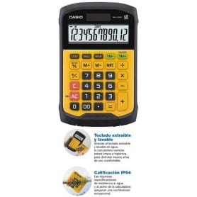 Calculadora Casio WaterProof WM-320-MT
