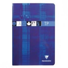 Cuaderno A4 Clairefontaine Seyés Azul