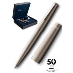 Estilográfica Lamy 2000 M black amber Edición Especial