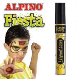 Liquid Liner maquillaje líquido al agua amarillo 6gr