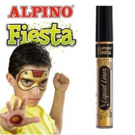 Liquid Liner maquillaje líquido al agua dorado 6gr
