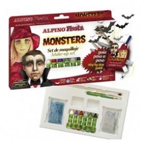 Kit maquillaje Halloween Monsters