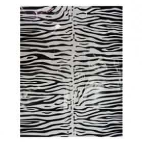 Bolsa de disfraz Cebra negro/blanco