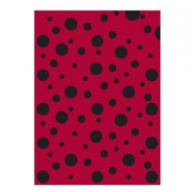 Bolsa de disfraz Mariquita negro/rojo