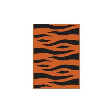 Bolsa de disfraz Tigre negro/naranja