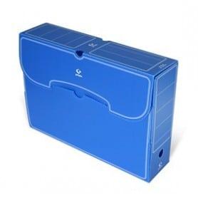 Archivo Definitivo Grafoplas folio plástico azul