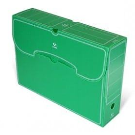 Archivo Definitivo Grafoplas folio plástico verde