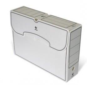 Archivo Definitivo Grafoplas folio plástico blanco