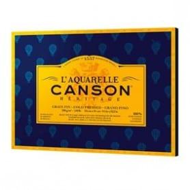 Bloc Canson Héritage grano Fino 300g 18 x 26 cm