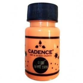 GLOW IN THE DARK Naranja CADENCE 50ml