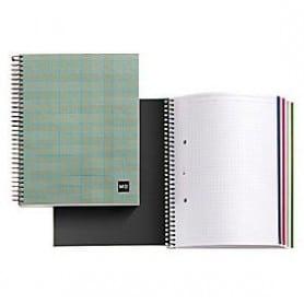 Cuaderno A4 120 hojas tartan verde Miquelrius