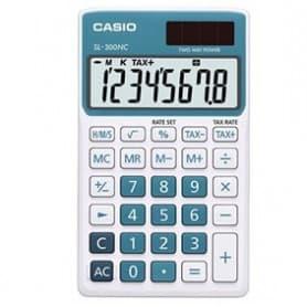 Calculadora Casio SL-300NC azul