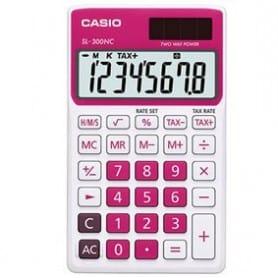Calculadora Casio SL-300NC fucsia