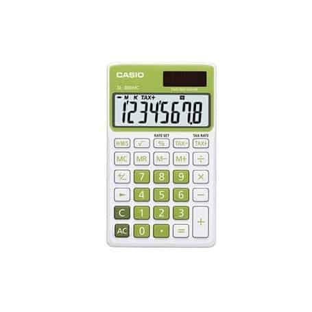 Calculadora Casio SL-300NC verde