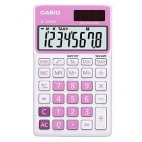 Calculadora Casio SL-300NC rosa