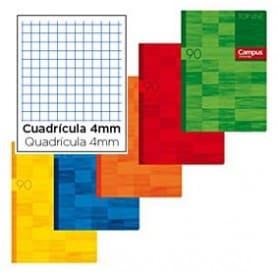 Libreta Campus A5+ cuadrícula 4mm