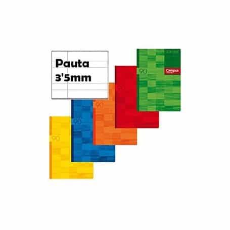 Libreta Campus A5+ 2 Doble Raya 3,5mm