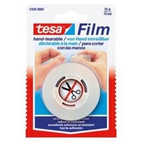 Cinta adhesiva Tesa sin tijeras 25x19