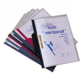 Dossier fastener A4 azul