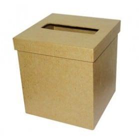 Caja puñuelos cuadrada Décopatch