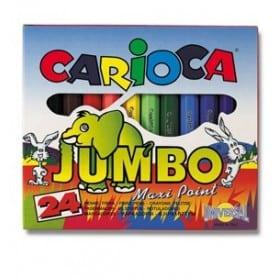 Rotuladores Carioca Jumbo caja 24 unid