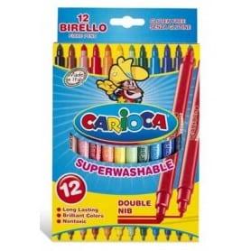 Rotuladores Carioca Birello caja 12 unid