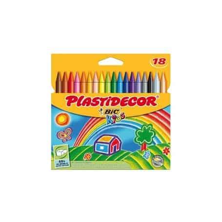 Lápices Plastidecor 18 lápices