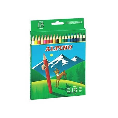 Lápices Alpino 18 lápices
