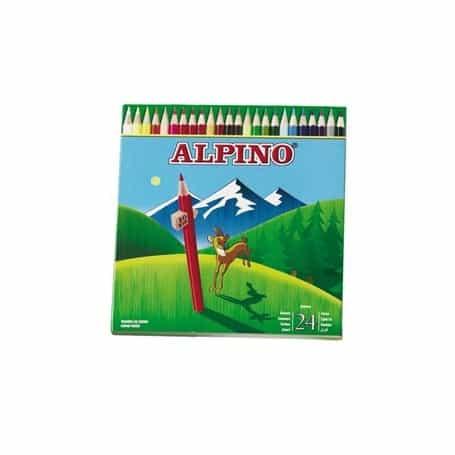 Lápices Alpino 24 lápices