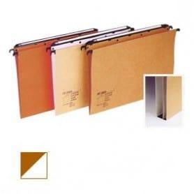 Carpeta colgante Folio Visor superior bicolor Fondo V