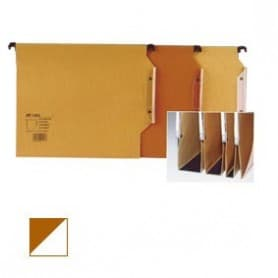 Carpeta colgante A4 Visor lateral bicolor Fondo V