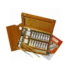 Caja llena madera 17-T Titán