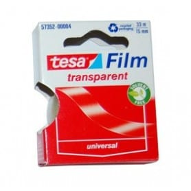 Tesa Film transparent 33 m/15 mm