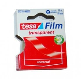 Tesa Film transparent 33 m/19 mm