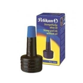 Tinta de sellar sin aceite Pelikan azul