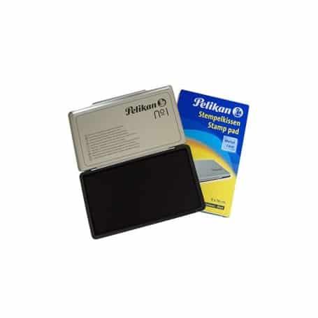 Almohadilla 9 x 16 cm negra