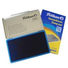 Almohadilla 9 x 16 cm azul