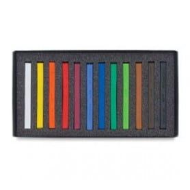 Caja 12 tizas polychromos pastel Faber-Castell