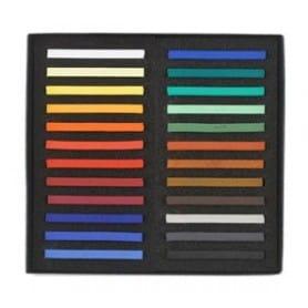 Caja 24 tizas polychromos pastel Faber-Castell