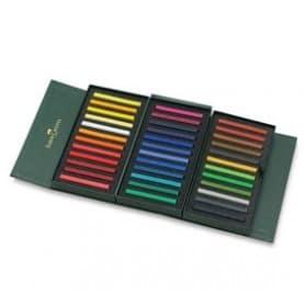Caja 36 tizas polychromos pastel Faber-Castell