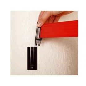 Poste separador cinta extensible aplicador pared