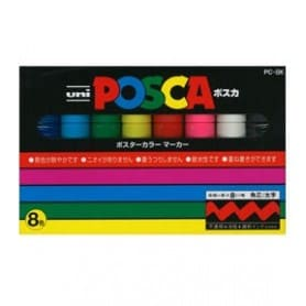 Set Posca 8 colores PC-8K