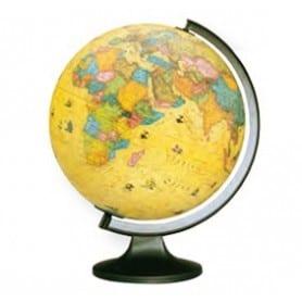 Esfera Mundo antigua luz 25 diámetro