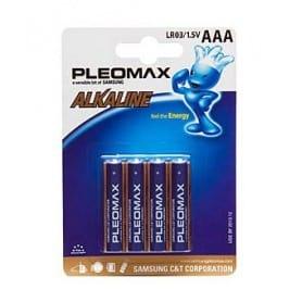 Pila Pleomax LR03 1.5V AAA Unidad