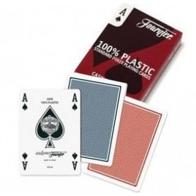 Naipes Fournier Poker Inglés standard