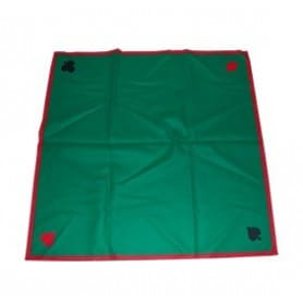 Tapete fieltro verde 90 x 90 cm