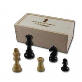 Fichas ajedrez madera