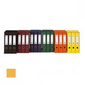Módulo tres archivadores amarillo